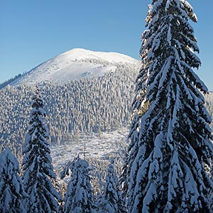 Winter Carpathians: from Parenky to Grofa